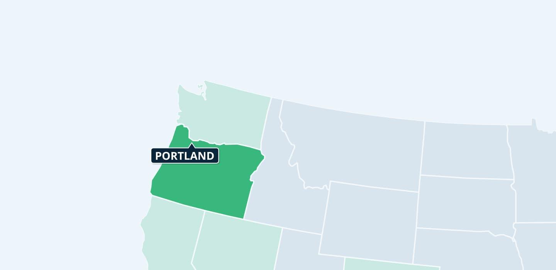 Oregon Mynd Management locations