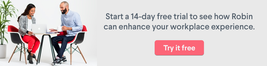 14 day free trial with Robin