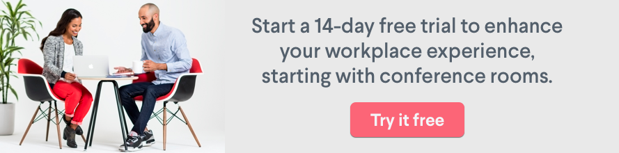 Robin 14-day free trial conference room scheduling software