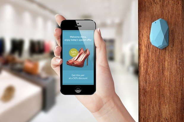 iBeacon in retail application