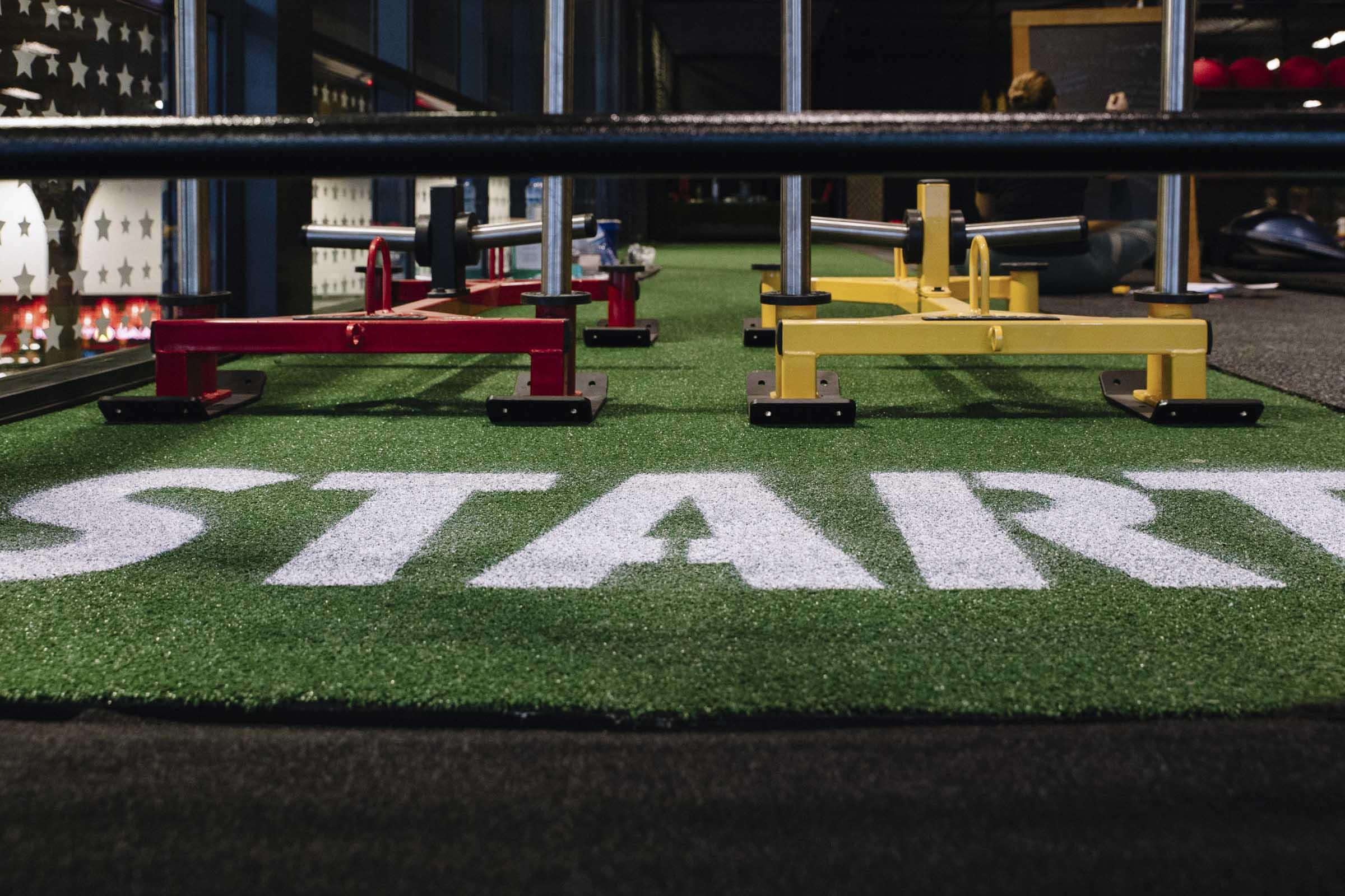 sled track palmerston gateway gym gallery