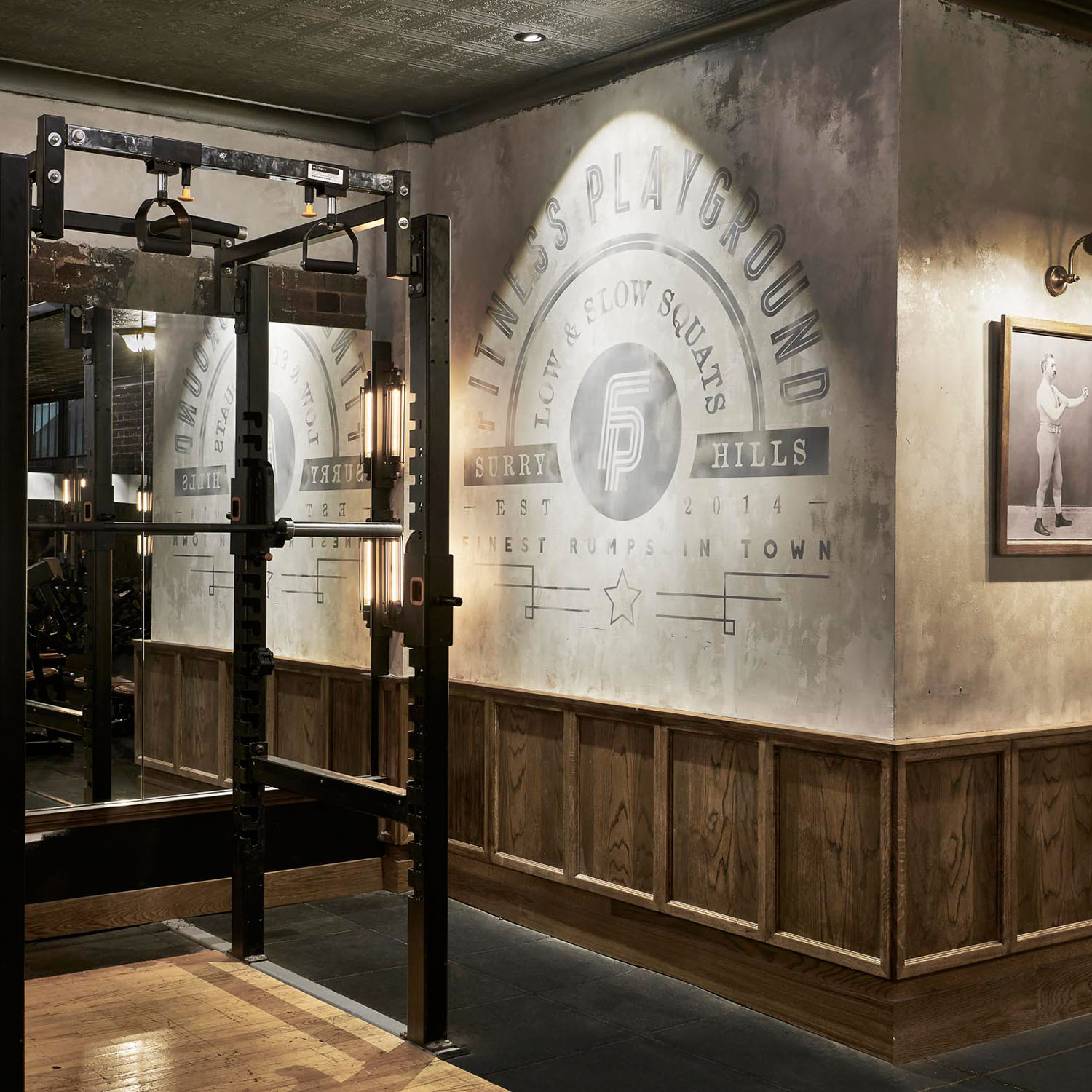 lifting zone surry hills gym gallery