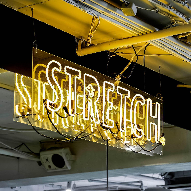 neon sweat sign sydney gym facility gallery