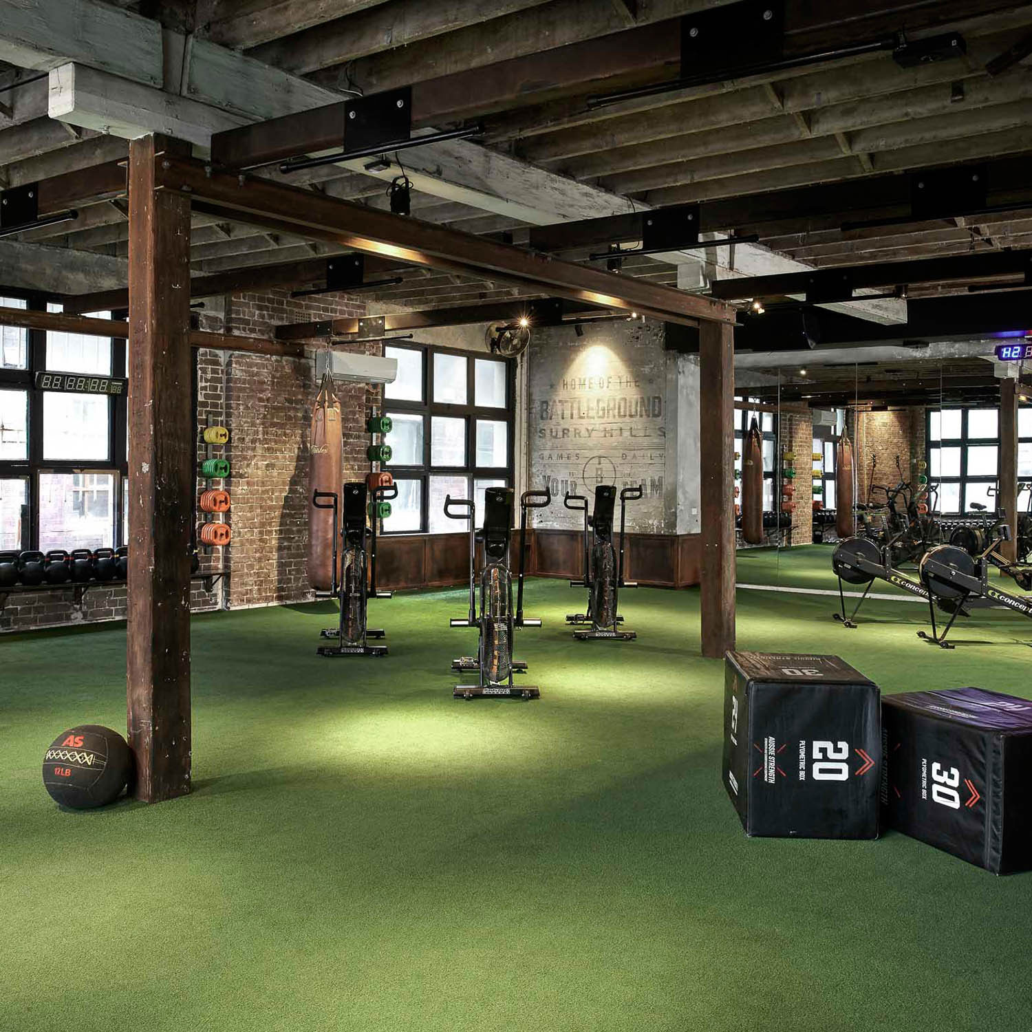 signature group fitness studio surry hills gym gallery