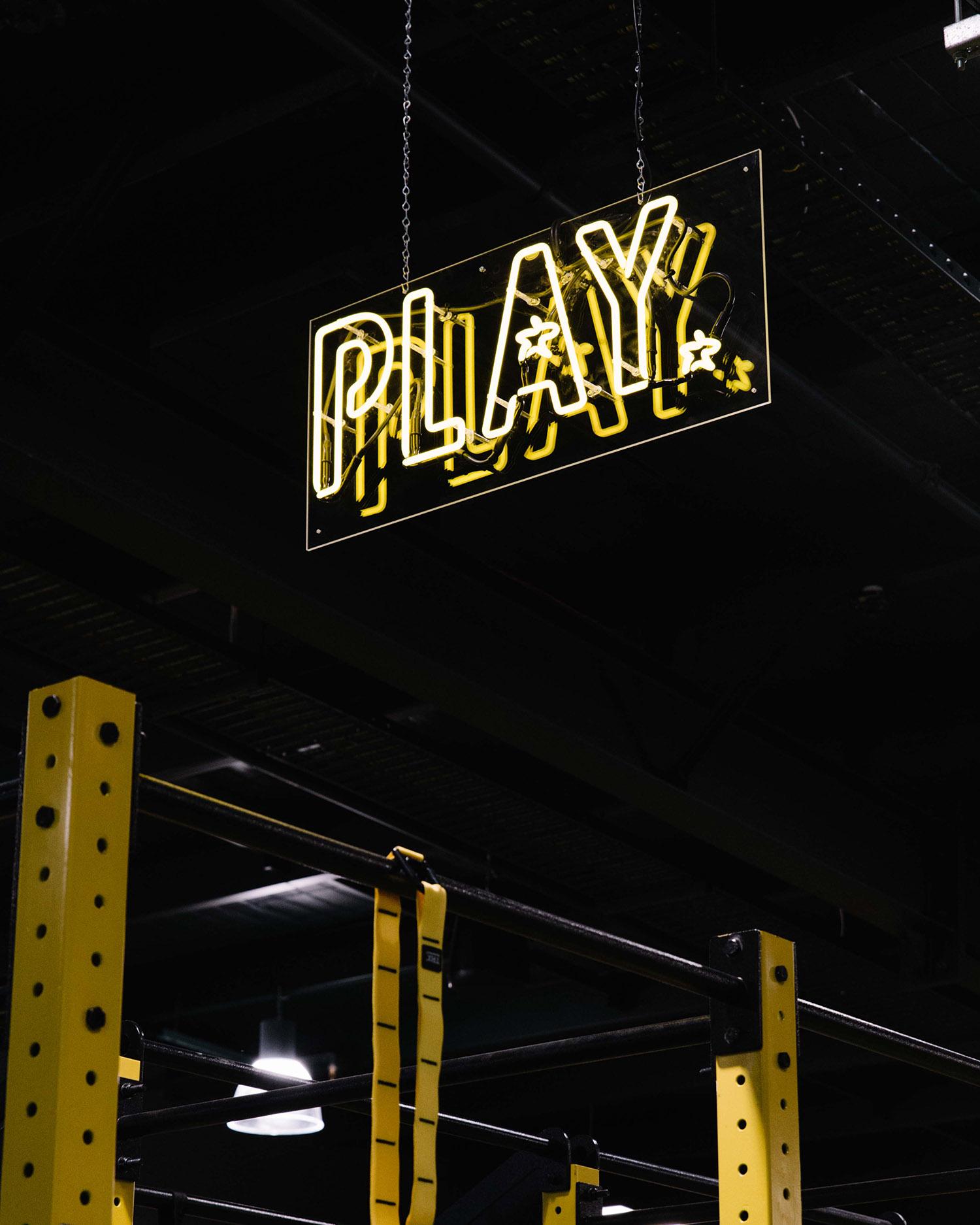 neon sign gateway darwin gym gallery