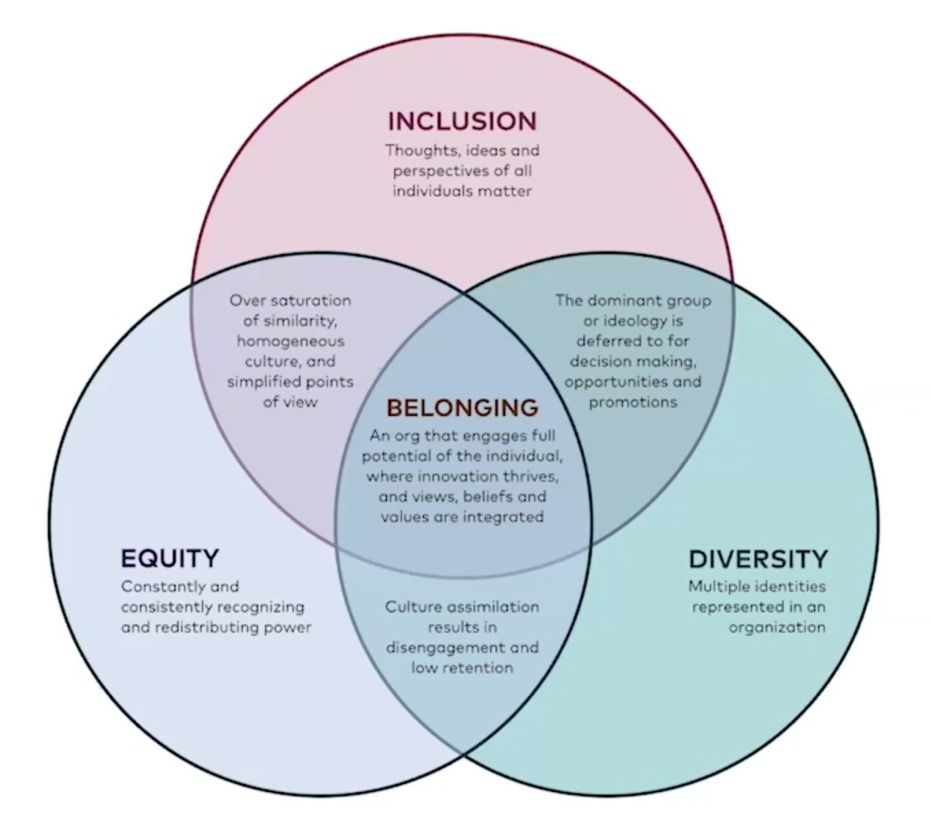 Diversity, Inclusion, Equity, and Belonging