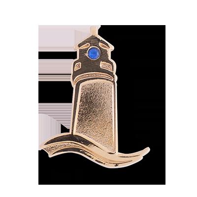 gold-lighthouse-die-struck-lapel-pin