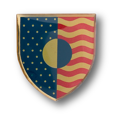 flag-shield-photo-dome-pin