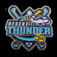 desert-thunder-baseball-trading-pin