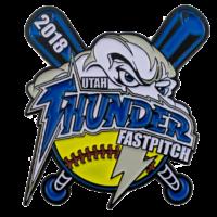 thunder-fastpitch-baseball-trading-pin