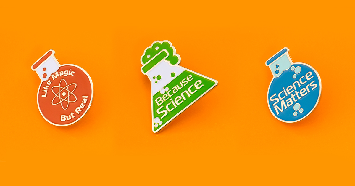 Science Pins Celebrate Scientific Breakthroughs!