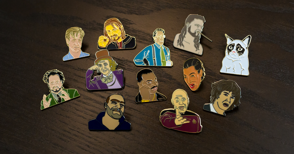 Custom Trendy Meme Lapel Pins Are The Latest Trend