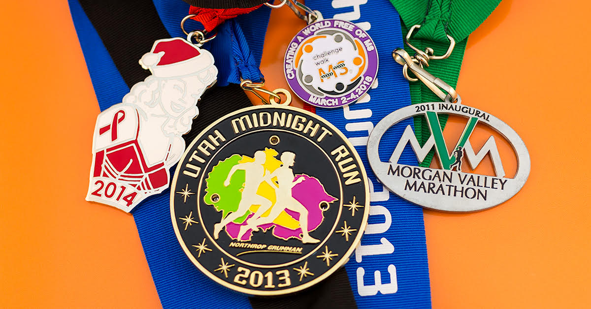 Cross the Finish Line First with a Custom Finisher Medal