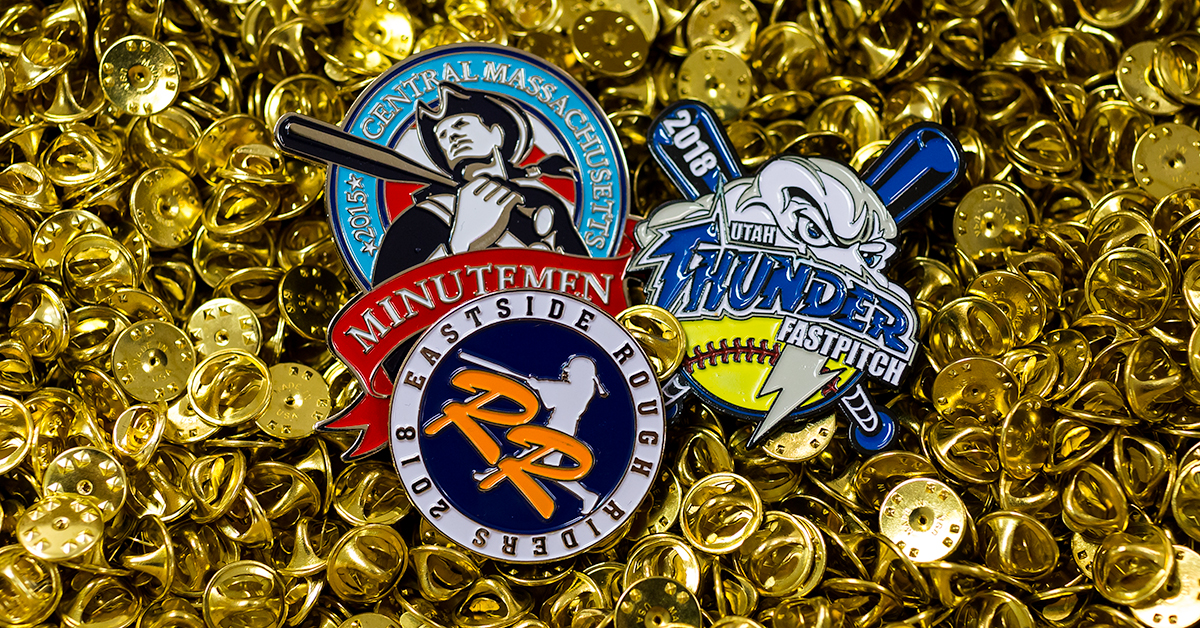 Custom Sports Trading Pins Raise Spirits and Money