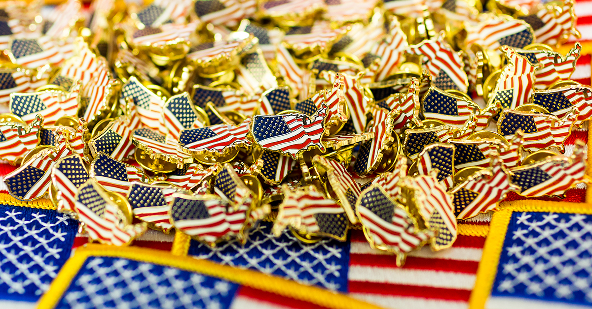 Many Ways to Use and Wear Custom Flag Pins