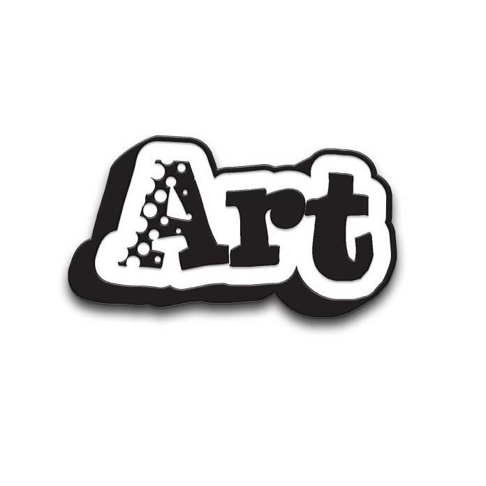 Art Word Pin