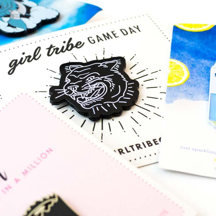 Custom Pin Bundle: 100 Pins & 100 Backer Cards