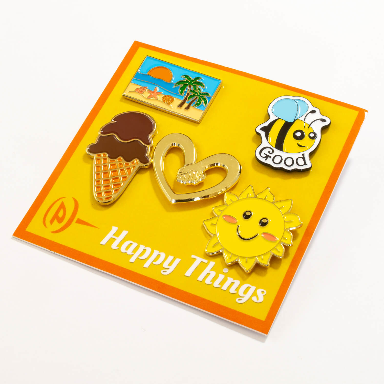 Happy Things Pin Set