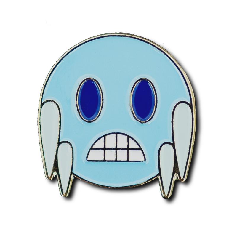 Ice Emoji Pin