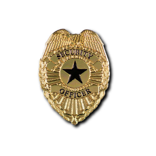 Security Officer Badge Lapel Pin