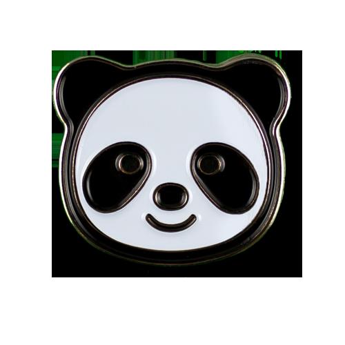 Panda Face Emoji Pin