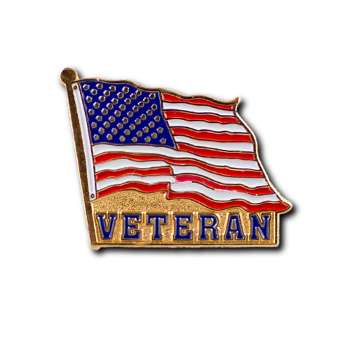 Veteran Flag Pin