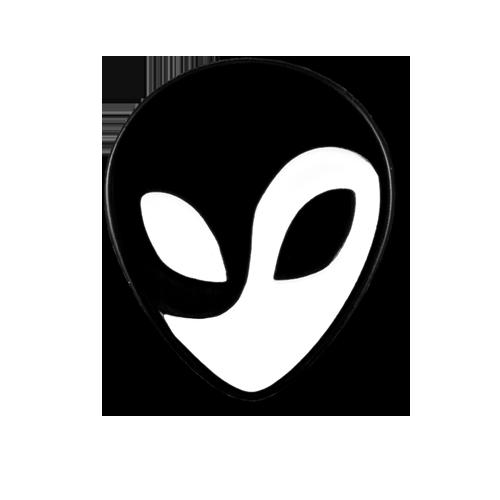 Yin and Yang Alien Pin