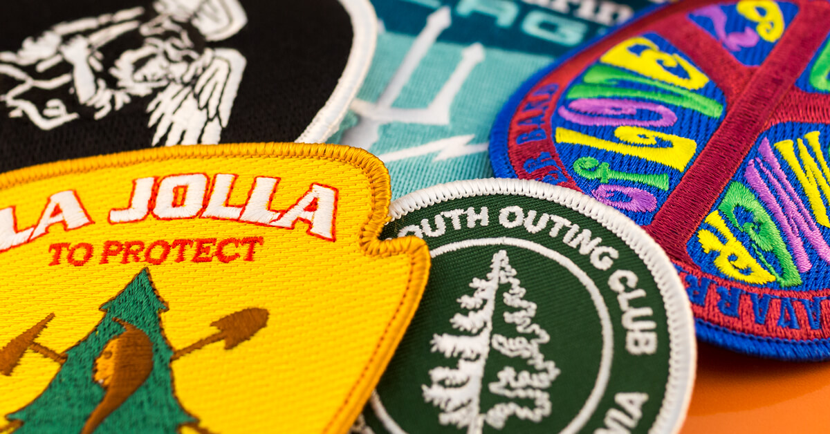 Custom Means Custom with Embroidered Patches