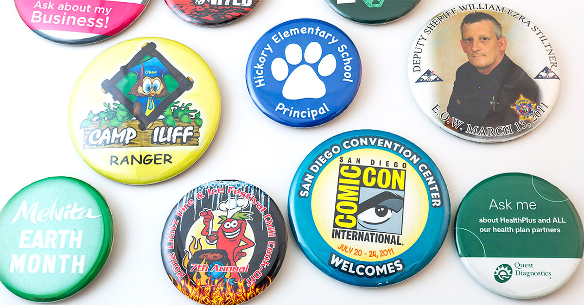 Custom Button Pins Can Be the Answer