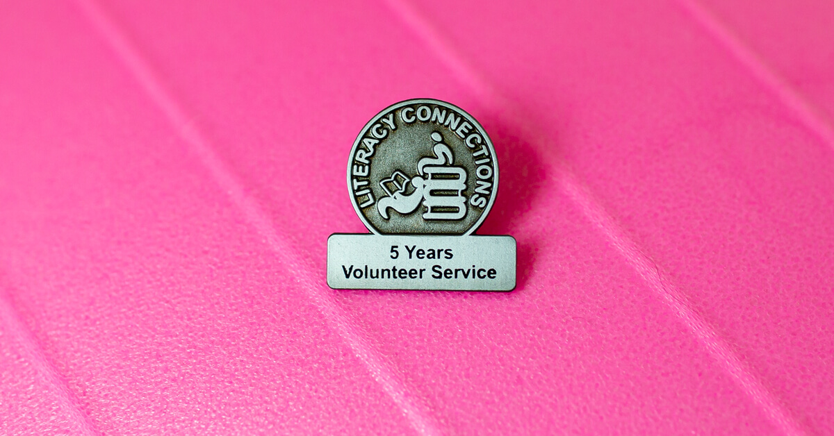Say Thank You with a Volunteer Appreciation Pin!