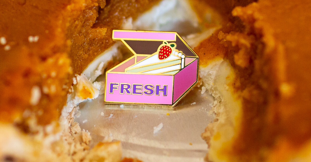 Just Talking About Food Lapel Pins Makes Us Hungry!