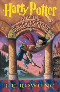 Harry Potter and the Sorcerer's Stone Novel Cover