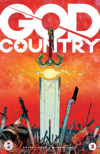 Valofax, god of blades, cover of God Country