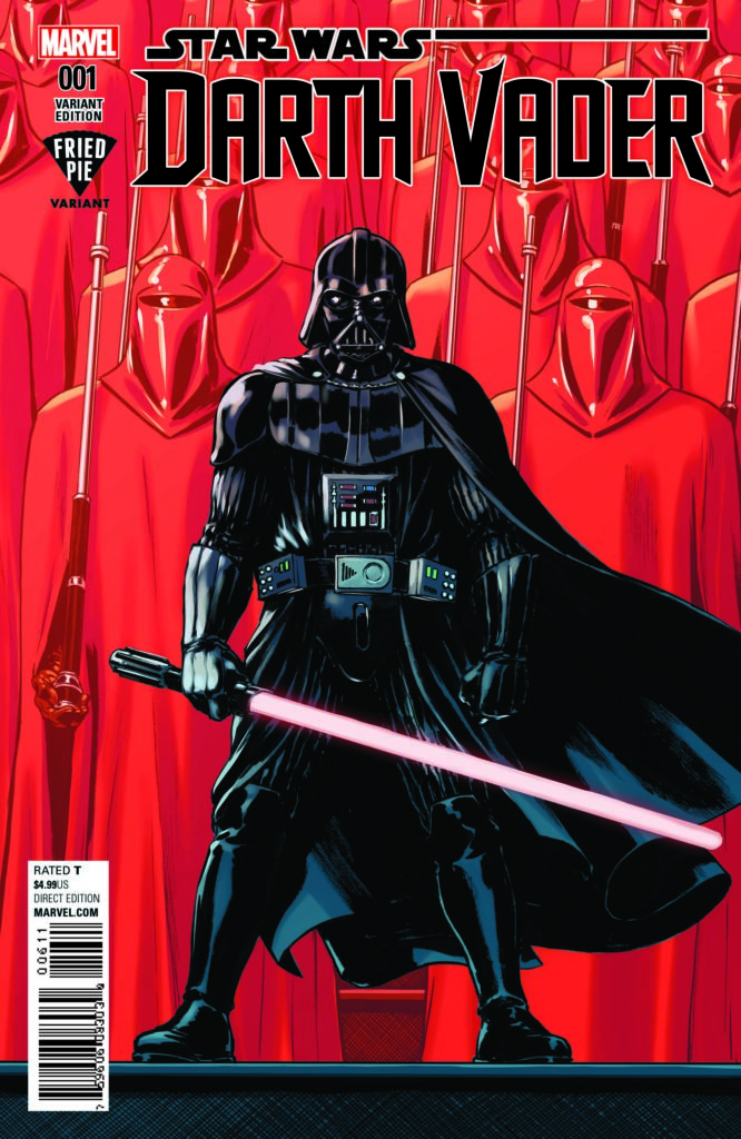 Fried Pie Variant cover for new Darth Vader #1