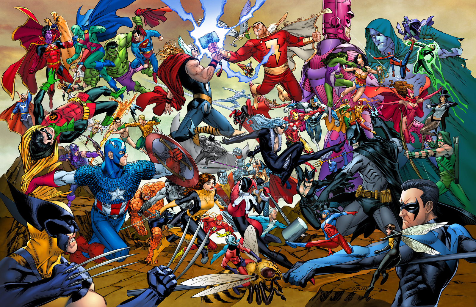 7 Greatest Comic Book Superheroes of All Time