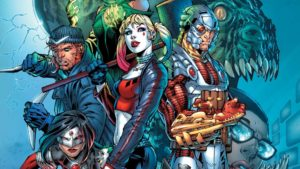 Suicide Squad's iconic rogue lineup