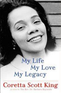 Coretta Scott King's book cover