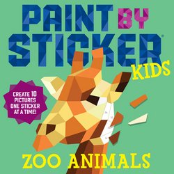 Paint-by-Sticker: All the Fun Without the Mess!