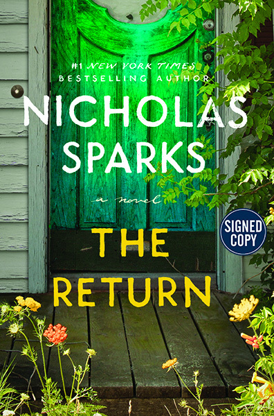 Limited Signed Copies of New Nicholas Sparks