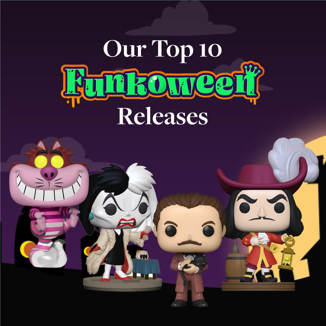 Top 10 Funkoween Releases