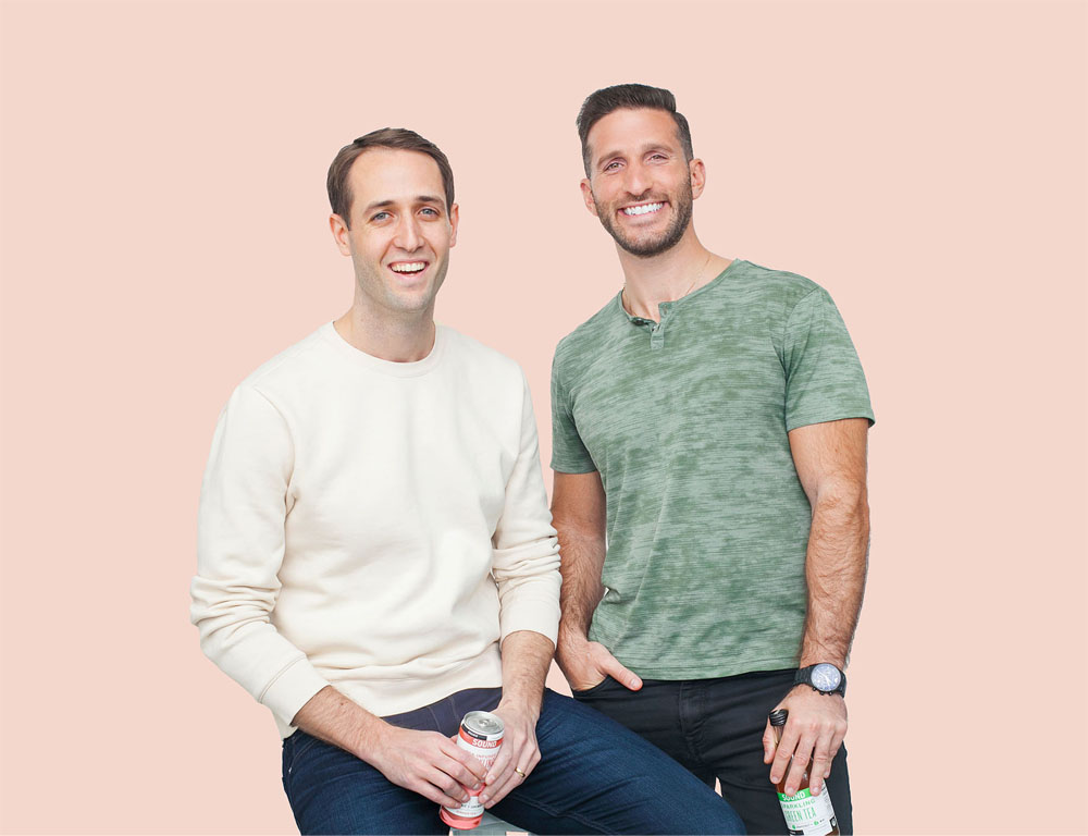 SOUND Sparkling Tea co-founders Tommy Kelly and Salim Najjar [Unioncrate]