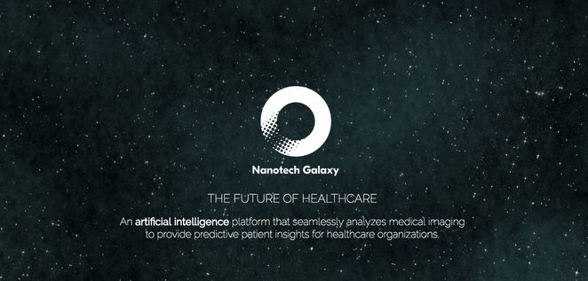 Starry background with Nanotech Galaxy logo [Unioncrate]