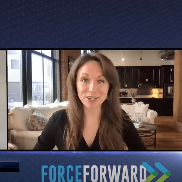 Unioncrate Founder & CEO Shastri Mahadeo talking to ForceBrands' Rebecca Fenton about supply chain [Unioncrate]