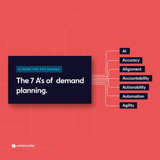The 7 A's of Demand Planning: A Guide for CPG Brands