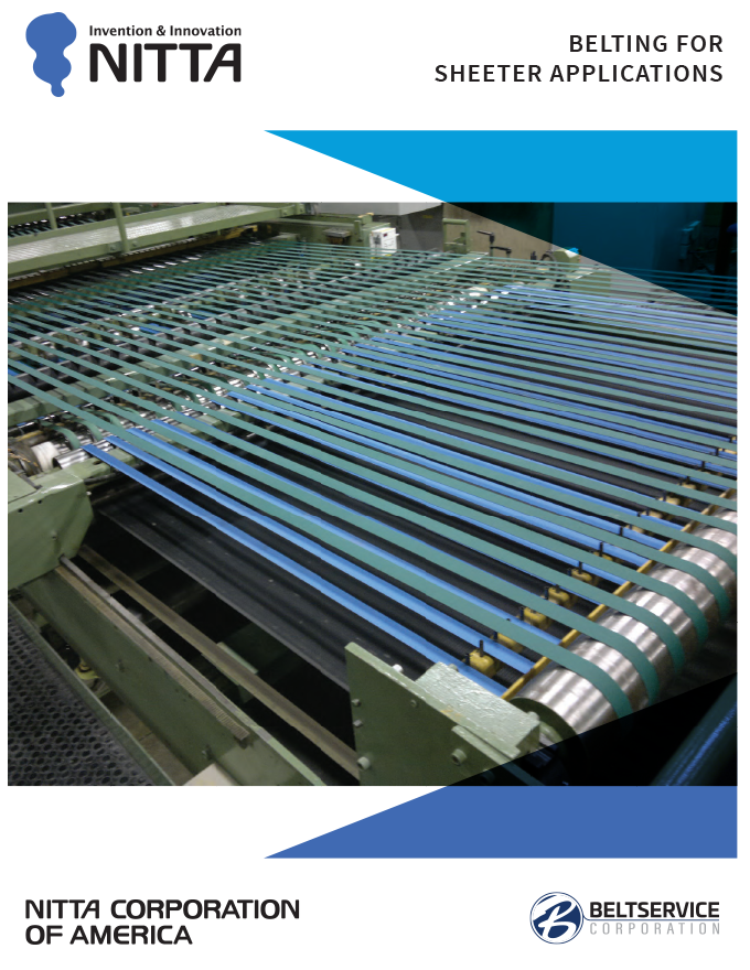 Nitta Sheeter Applications