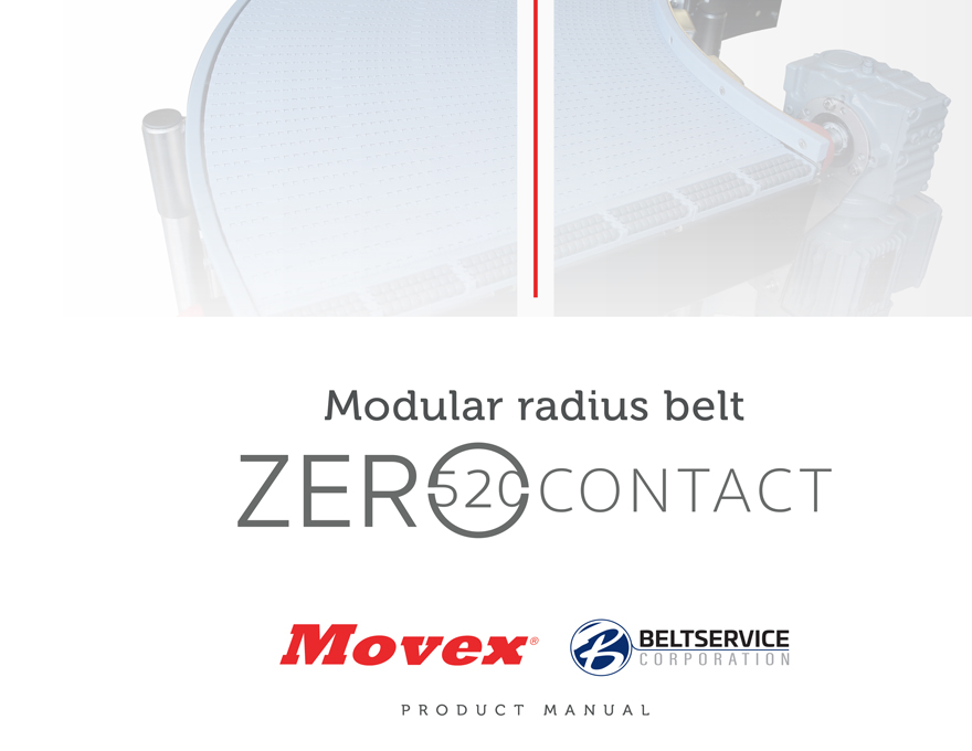Movex Modular Belting Zero 520 Contact Product Manual
