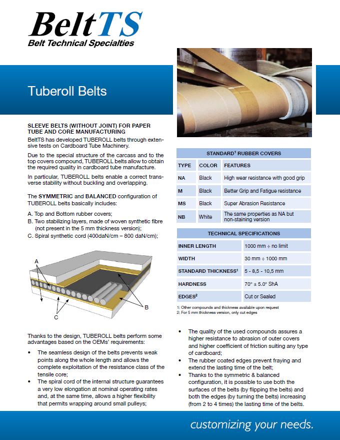 BeltTS - Tuberoll Belts
