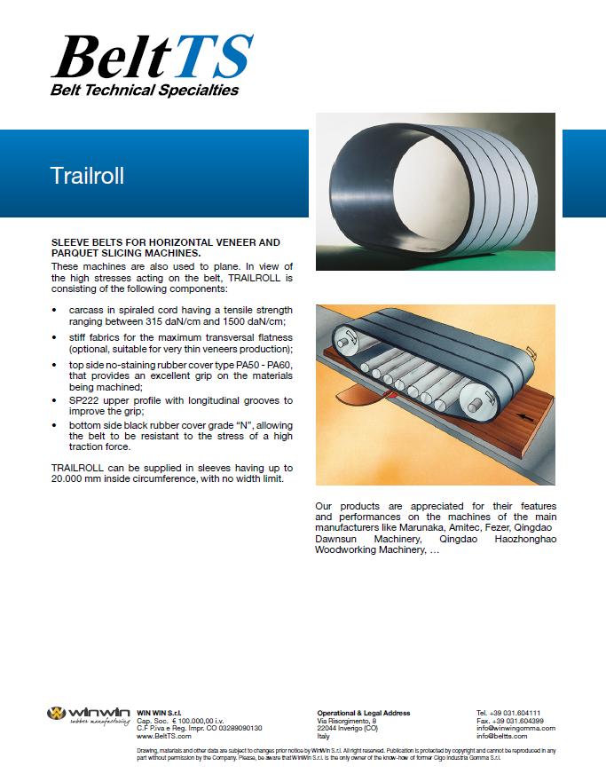 BeltTS - Trailroll Belts
