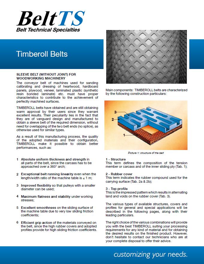 BeltTS - Timberoll Belts