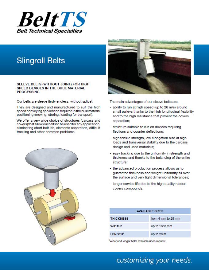 BeltTS - Slingroll Belts